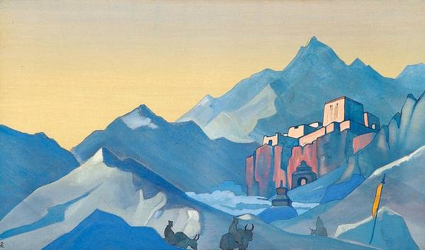 Nk Roerich Painting - Stronghold Of The Spirit by Nicholas Roerich
