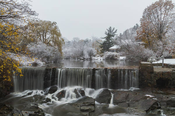 Photograph - Stroudwater Falls Portland Maine by Colin A Chase