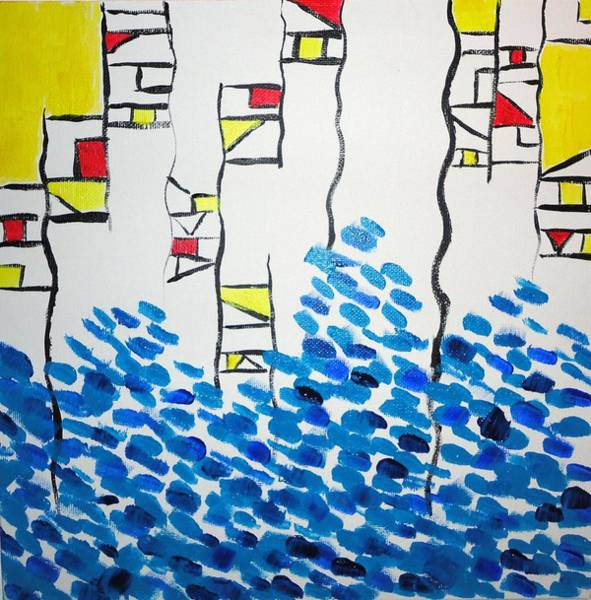 Wall Art - Painting - Structural Integrity by Valerie Howell