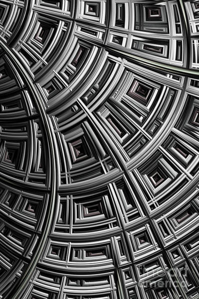 Web Digital Art - Structure by John Edwards
