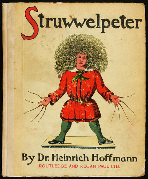 Wall Art - Drawing - 'struwwelpeter'  The Cover Of The Book by Mary Evans Picture Library
