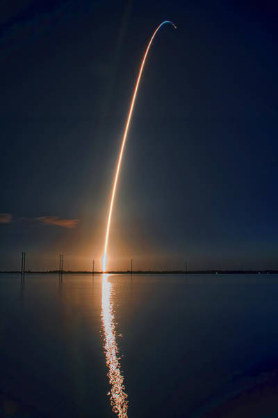 Wall Art - Photograph - Sts-131 Launch by Tom Weisbrook