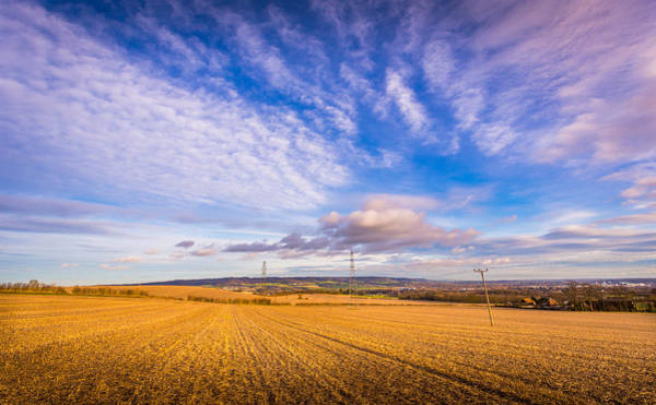 Photograph - Stubble Fields by Gary Gillette