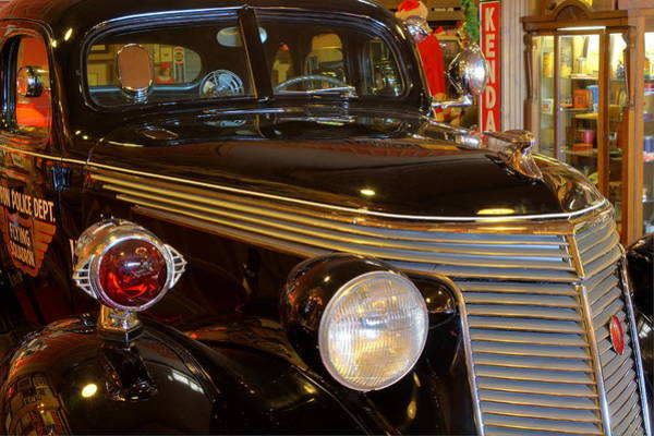 Photograph - Studebaker Armored Police Car by David Dufresne