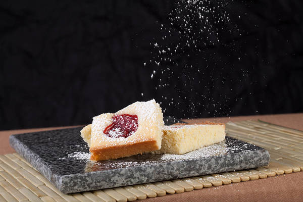 Photograph - Studio Shot Of Home Made Pastry by Kyle Lee