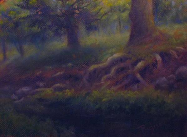 Painting - Study Of Sycamore Roots by Bill Puglisi