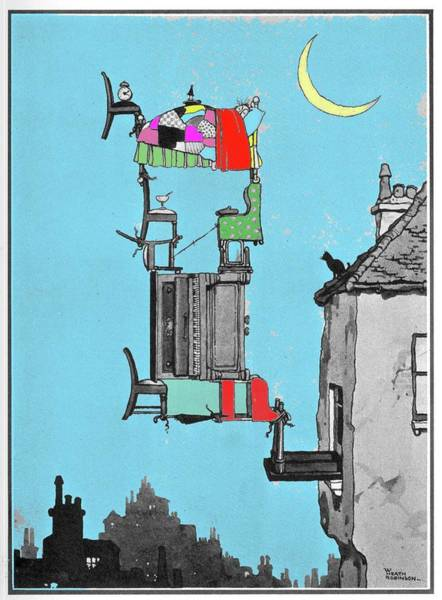 Wall Art - Photograph - Stuffy Night By W. Heath Robinson by Adam Hart-davis/science Photo Library