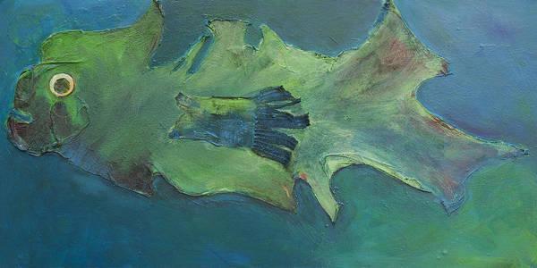 Painting - Stumpnose by Jillian Goldberg