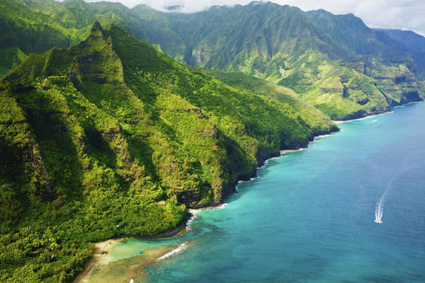 Wall Art - Photograph - Stunning Kauai Coastline by Kicka Witte