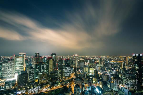 Photograph - Stunning Osaka by Didier Marti