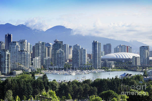 Photograph - Stunning Vancouver by Brenda Kean