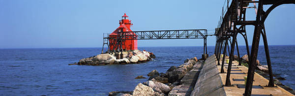 Wall Art - Photograph - Sturgeon Bay Canal North Pierhead by Panoramic Images
