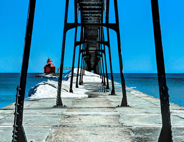 Wall Art - Photograph - Sturgeon Bay Lighthouse by Anna-Lee Cappaert