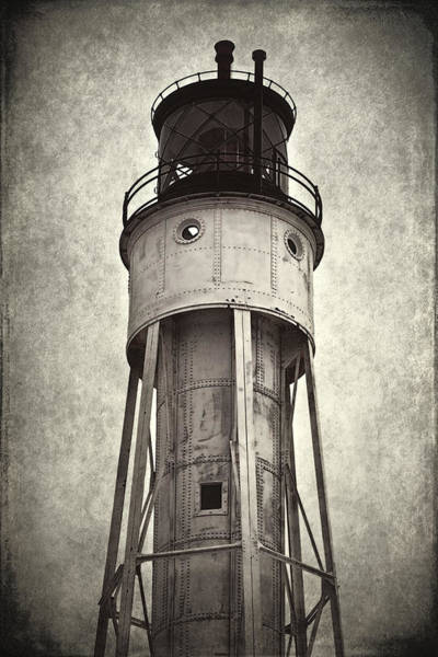 Photograph - Sturgeon Bay Ship Canal Lighthouse II by Joan Carroll