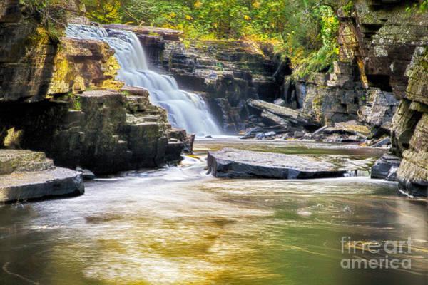 Sturgeon River Photograph - Sturgeon Falls by Twenty Two North Photography