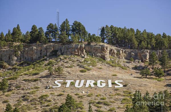 Photograph - Sturgis Sign by Bryan Mullennix