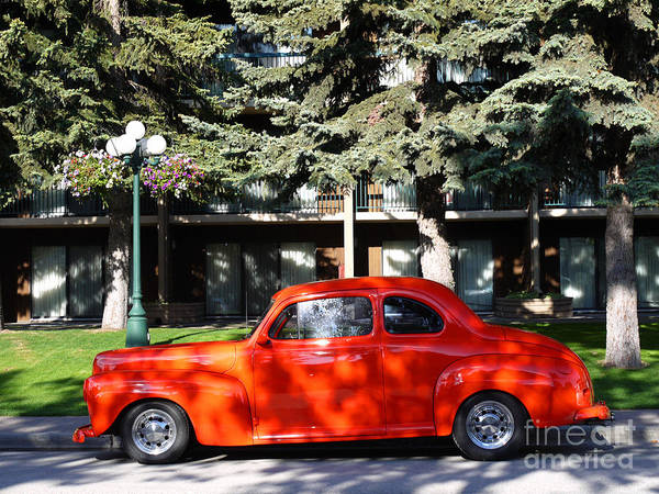 Photograph - Styled For Speed In Banff by Brenda Kean
