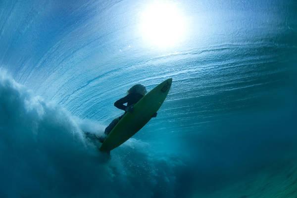 Surfboard Photograph - Sub Stellar by Sean Davey