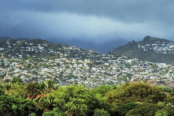 Suburbs Photograph - Suburb Of Honolulu by Babak Tafreshi