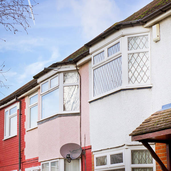 Housing Development Photograph - Suburban Homes by Tom Gowanlock