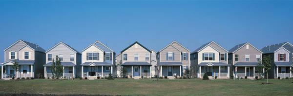 Housing Development Photograph - Suburban Housing Development Joliet Il by Panoramic Images