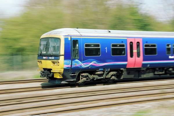 Wall Art - Photograph - Suburban Train by Trl Ltd./science Photo Library