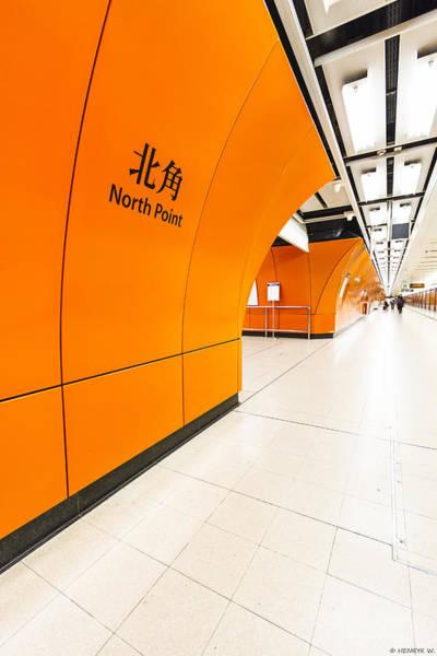 Hongkong Photograph - Subway Hongkong by Henryk Welle