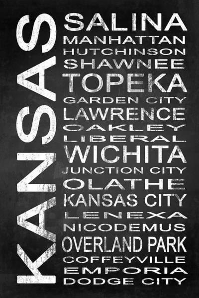 Wall Art - Digital Art - Subway Kansas State 1 by Melissa Smith