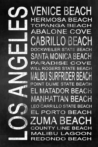 Lagoon Digital Art - Subway Los Angeles 3 by Melissa Smith