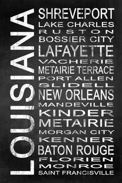 Baton Rouge Digital Art - Subway Louisiana State 1 by Melissa Smith