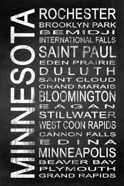 West Bay Digital Art - Subway Minnesota State 1 by Melissa Smith