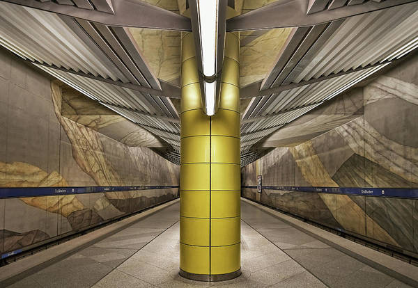 Wall Art - Photograph - Subway Munich by Renate Reichert
