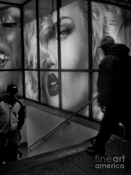 Blade Runner Photograph - Subway Noir by Miriam Danar