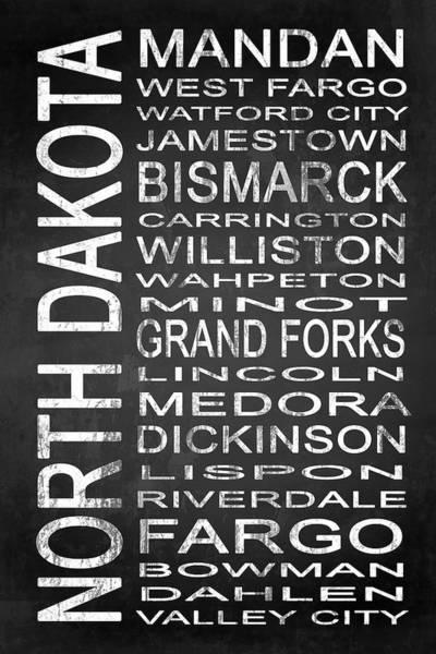 Fork Digital Art - Subway North Dakota State 1 by Melissa Smith