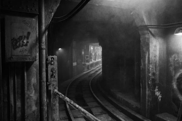 Urban Decay Photograph - Subway Nyc by H James Hoff