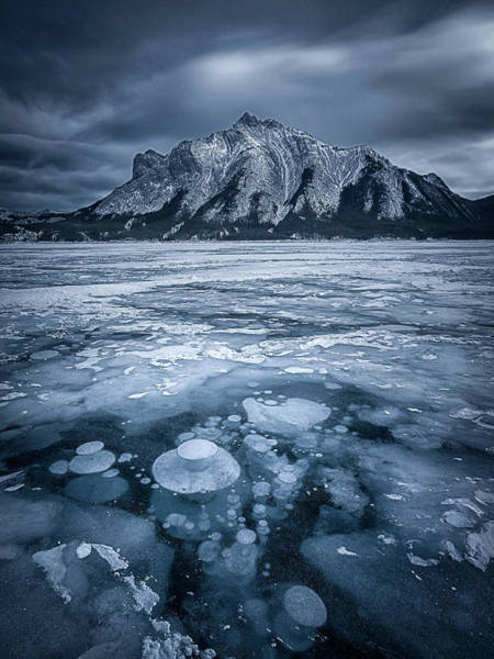 Rockies Wall Art - Photograph - Subzero by Michael Zheng