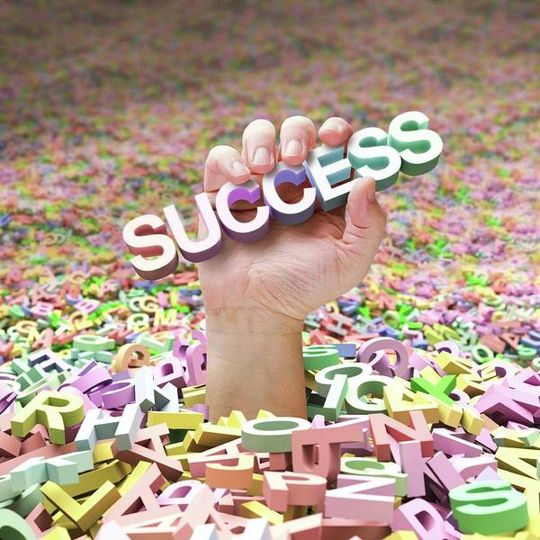 Wall Art - Photograph - Success by Ktsdesign/science Photo Library