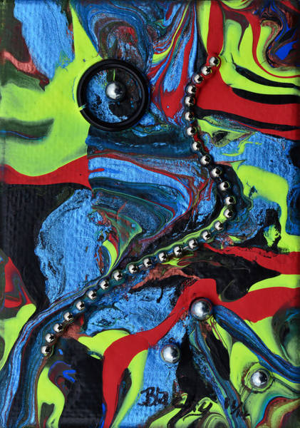 Wall Art - Painting - Succumb To Darkness by Donna Blackhall