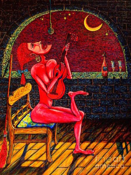 Seducer Painting - Succubus by Viktor Lazarev
