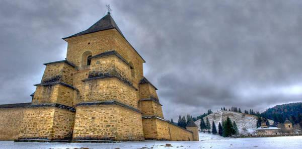 Moldova Wall Art - Photograph - Sucevita Monastery by Vlad Baciu
