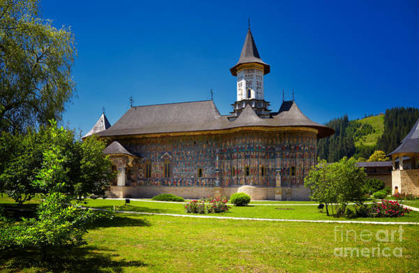 Moldova Wall Art - Photograph - Sucevita Painted Monastery by Gabriela Insuratelu