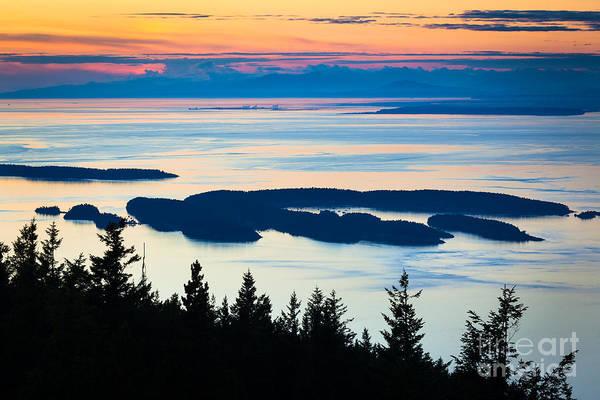 Mount Moran Photograph - Sucia Island by Inge Johnsson