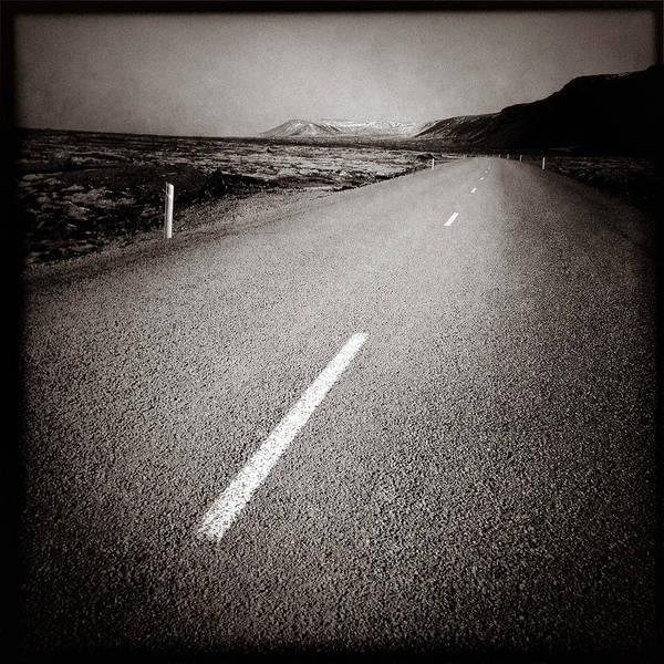 Scenic Highway Wall Art - Photograph - Sudurstrandarvegur by Dave Bowman