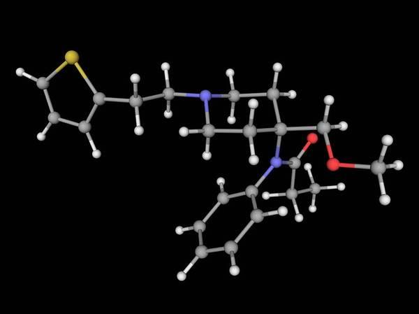 Compound Photograph - Sufentanil Drug Molecule by Laguna Design/science Photo Library