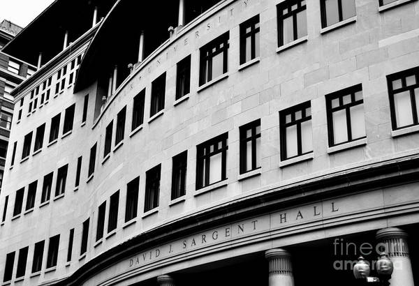 Photograph - Suffolk University Law School Boston Ma by Staci Bigelow
