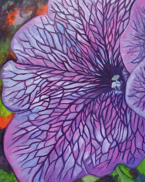 Painting - Sugar Daddy Petunia by Sherri Anderson