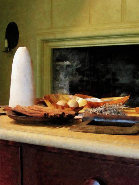 Photograph - Sugar Nutmeg And Eggs by Susan Savad