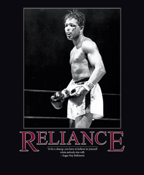 Boxing Photograph - Sugar Ray Robinson Reliance by Retro Images Archive