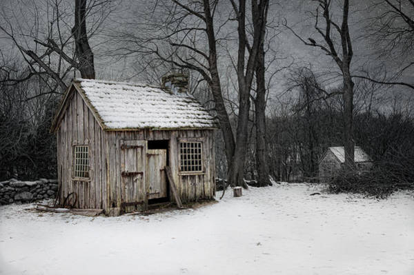 Photograph - Sugared Shack by Robin-Lee Vieira