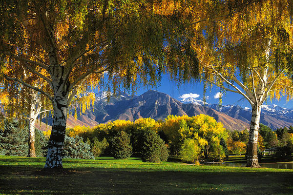 Wall Art - Photograph - Sugarhouse Park Salt Lake City Ut by Douglas Pulsipher